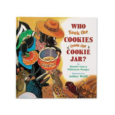 Who Took Cookies From Jar - Hardcover
