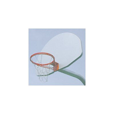 Aluminum Fan Backboard - White Finish - Each