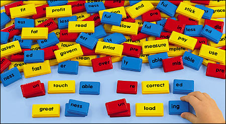 Prefix Suffix Word Tiles