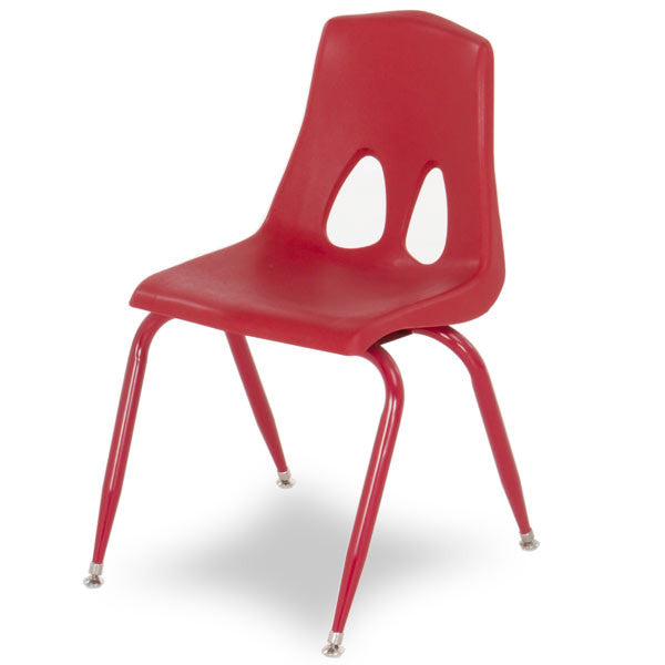 "Circusline Stacking Chair Powdercoat Legs 9.5""H - Red"