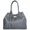 Silver Large Iconic Handbag