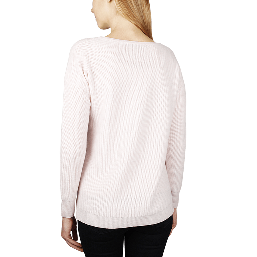 Thermal Sweatshirt - Blush