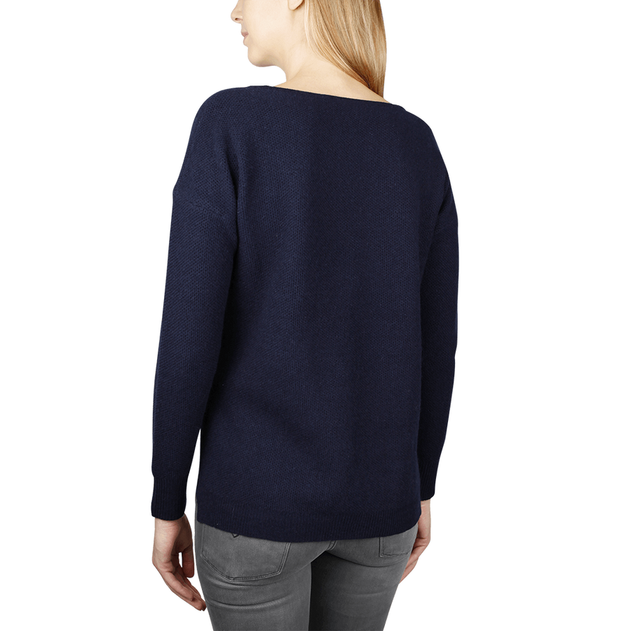 Thermal Sweatshirt - Navy