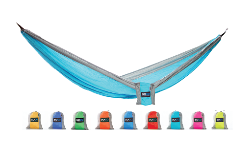Double Hammock + STRAPS and Carabiners