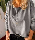 CAMISETA ALWAYS MAGIC GRIS