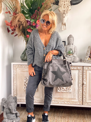 BOLSO ISY GRIS OSCURO