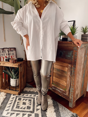 LEGGINGS POLIPIEL BRONCE