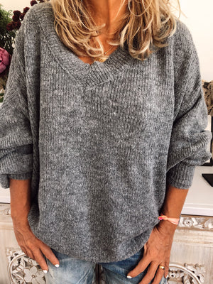 JERSEY OLENA GRIS OSCURO