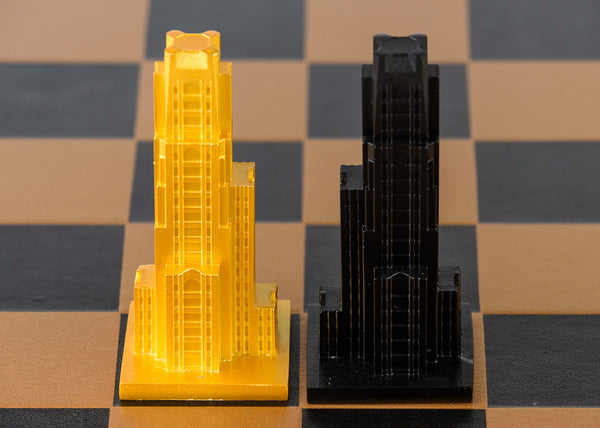 Pittsburgh Chess Set (Pieces only)