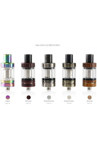 CLEAROMIZER MELO 3 - 4 ml - NEW COLORS