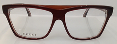 GUCCI GG 3545 BURGUNDY 5GJ PLASTIC EYEGLASSES FRAME 55-13-140 ITALY AUTHENTIC