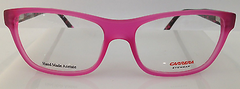 Carrera CA 6189 Matte Pink 8H2 Plastic Eyeglasses Frame 54-16-140 Authentic New