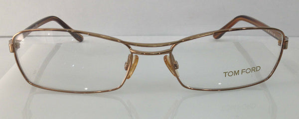 TOM FORD TF 5024 COLOR 268 LIGHT BROWN METAL EYEGLASSES FRAME AUTHENTIC NEW 54MM
