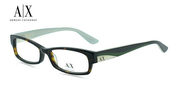 Armani Exchange AX233 1GT Tortoise Plastic Eyeglasses 50-16-135 Cat Eye NEW RX