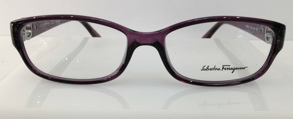 Salvatore Ferragamo SF2630 Purple 500 Plastic Women's Frame 53-16-130 Authentic