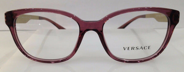 Versace Mod. 3240 Violet 5209 Plastic Eyeglasses Frame 52-16-140 Italy New RX
