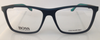 Hugo Boss 0708 Matte Blue H0Q Plastic Eyeglasses Frame 54-15-145 Authentic Italy