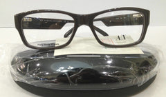 Armani Exchange AX152 Color 86L Brown Plastic Eyeglasses Frame Authentic 53-17