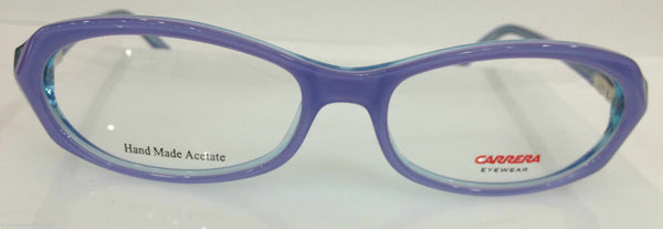 CARRERA CA 6177 OH0 LIGHT PURPLE PLASTIC EYEGLASSES FRAME AUTHENTIC 46-16-135 RX