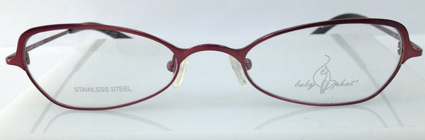 BABY PHAT MOD 104 COLOR VAMP PURPLE METAL EYEGLASSES FRAME FRAME 50-20-143 NEW
