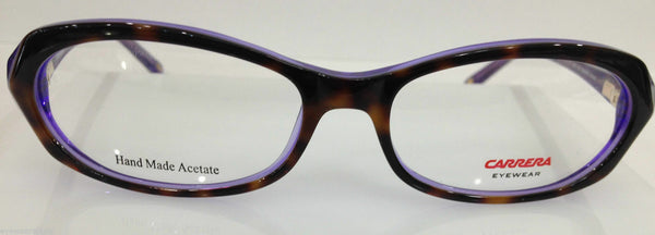 CARRERA CA 6177 HCW TORTOISE/PURPLE PLASTIC EYEGLASSES FRAME AUTHENTIC NEW RX