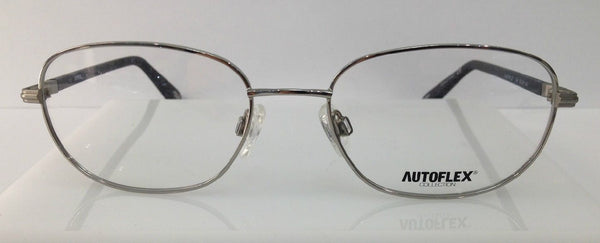 Autoflex Start Me Up Silver 046 Flexible Metal Eyeglasses Frames 55-18-145 New