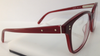 Bobbi Brown The Dusty Red 0S00 Plastic Square Eyeglasses Frame 50-16-140 New RX