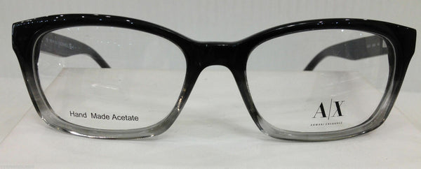 Armani Exchange AX232 Color 0E4S Black Gradient Plastic Eyeglasses 50-16-140 New