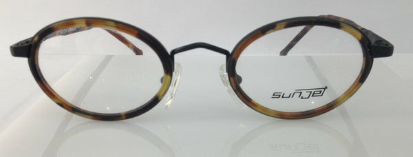 SUNJET BY CARRERA 4487 91 TORTOISE METAL ROUND EYEGLASSES FRAME 44-21-140 NEW RX