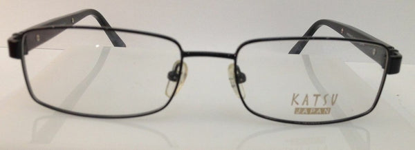 KATSV K8005 C3 BROWN METAL EYEGLASSES FRAME 54-18-135 HANDMADE IN JAPAN
