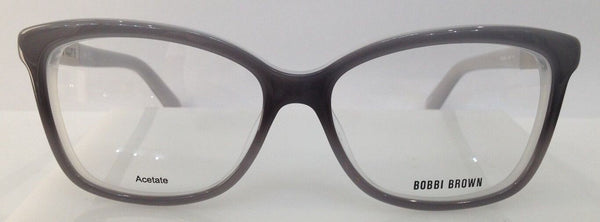 Bobbi Brown The Lena Grey Fade 0EE9 Plastic Eyeglasses Frame 54-15-135 Authentic