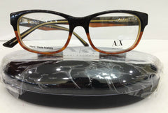 Armani Exchange AX229 0GAG Brown Havana Eyeglasses Frame 51-16-140 Round New RX