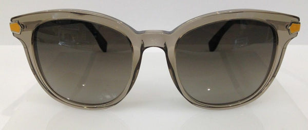 Fendi FF 0021/S Smoke Grey 7UQHA Plastic Sunglasses Frame Italy 51-20-140 New RX