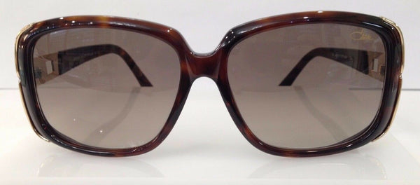 CAZAL 8017 TORTOISE/GOLD 003 PLASTIC SUNGLASSES FRAME 57-14-135 GERMANY NEW