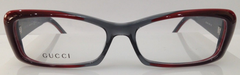 GUCCI GG 3516 RED/GREY WVR PLASTIC EYEGLASSES FRAME 54-15-135 ITALY NEW