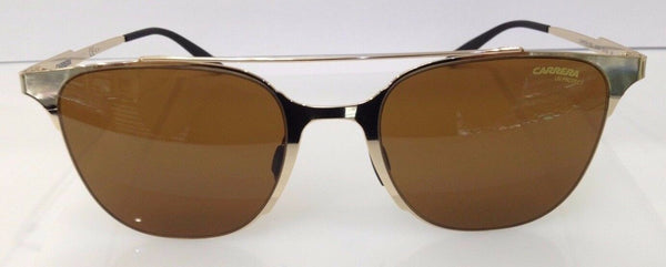 CARRERA 116/S GOLD J5GW4 METAL SUNGLASSES FRAME 51-20-145 AUTHENTIC NEW