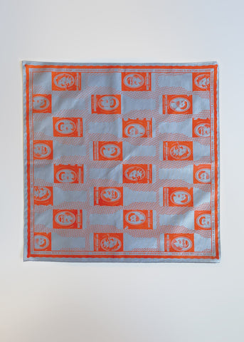 Bottle Hankie - Shaquanda Red on Grey