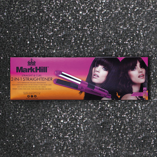 Mark Hill Straight N Curl 2 In 1 Straighteners Mark
