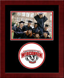 University of Wisconsin - Madison  Badgers Spirit Photo Frame (Horizontal)
