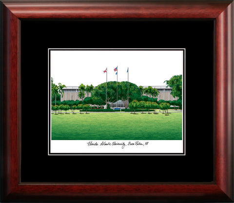 Florida Atlantic University Academic Framed Lithograph