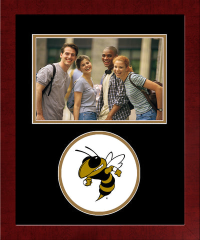 Georgia Institute of Technology Yellow Jackets Spirit Photo Frame (Horizontal)