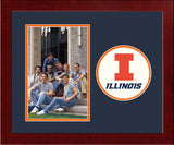 University of Illinois, Urbana-Champaign Spirit Photo Frame (Vertical)