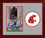 Washington State Cougars Spirit Photo Frame (Vertical)