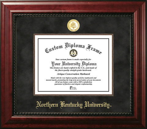 Northern Kentucky University 11w x 8.5h Executive Diploma Frame