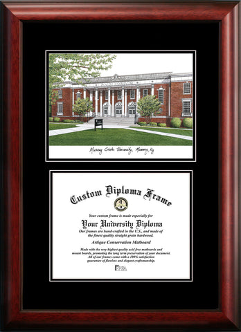 Murray State University 14w x 11h Diplomate Diploma Frame