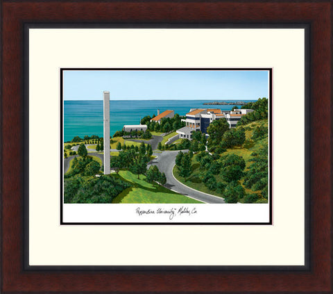 Pepperdine University Legacy Alumnus Framed Lithograph
