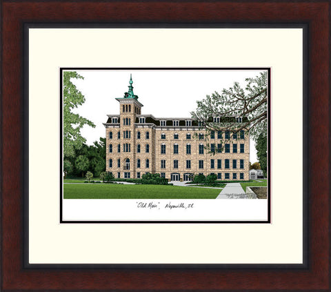 North Central Colleg- Legacy- Alumnus- Framed- Lithograph