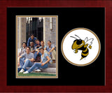 Georgia Institute of Technology Yellow Jackets Spirit Photo Frame (Vertical)