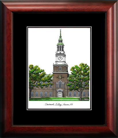 Dartmouth College Academic Framed Lithograph