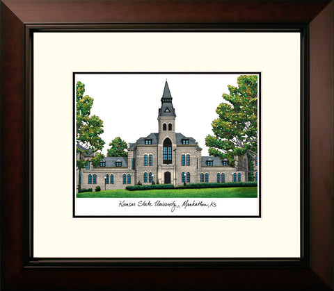 Kansas State University Legacy Alumnus Framed Lithograph